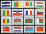 Poštovní známky OSN New York 1980 Vlajky Mi# 348-63