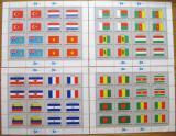 Poštovní známky OSN New York 1980 Vlajky Archy Mi# 348-63