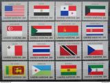 Poštovní známky OSN New York 1981 Vlajky Mi# 373-88