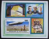 Poštovní známka Horní Volta 1976 Vzducholoď Mi# Block 42