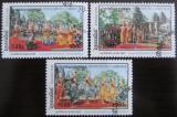 Poštovní známky Kambodža 1998 Tanec Mi# 1875-77