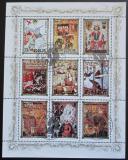 Poštovní známky KLDR 1984 Evropská historie Mi# 2576-84