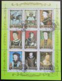 Poštovní známky KLDR 1984 Evropská historie Mi# 2531-39