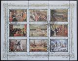 Poštovní známky KLDR 1984 Evropská historie Mi# 2594-2602