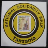 Poštovní známka Tanzánie 1989 Prezident Mwinyi Mi# Block 93