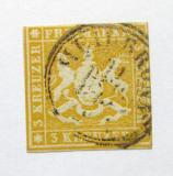 Poštovní známka Wurttemberg 1859 Erb Mi# 12