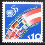 Poštovní známka Rakousko 1995 Výročí OSN Mi# 2162