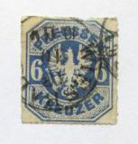 Poštovní známka Prusko 1867 Pruská orlice Mi# 25 Kat 55€