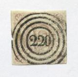 Poštovní známka Thurn a Taxis 1859 Nominální hodnota Mi# 24 Kat 120€