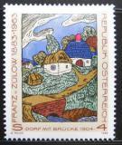 Poštovní známka Rakousko 1988 Umění, Zulow Mi# 1912