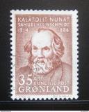 Poštovní známka Grónsko 1964 Samuel Kleinschmidt Mi# 64