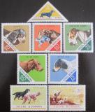 Poštovní známky Rumunsko 1965 Psi Mi# 2470-77