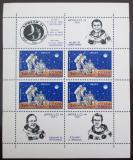 Poštovní známky Rumunsko 1971 Lety na Měsíc Mi# Block 83