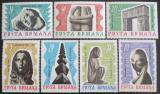 Poštovní známky Rumunsko 1967 Sochy Mi# 2582-88