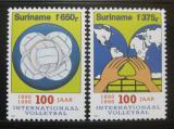 Poštovní známky Surinam 1995 Volejbal Mi# 1500-01