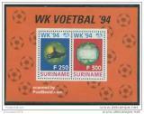 Poštovní známky Surinam 1994 MS ve fotbale Mi# Block 62 Kat 18€