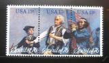Poštovní známky USA 1976 Americká revoluce Mi# 1197-99