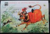 Poštovní známka Jersey 1997 Rok vola Mi# Block 14