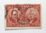 Poštovní známka Kanada 1927 Baldwin a Lafontaine Mi# 126 Kat 19€