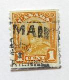 Poštovní známka Kanada 1928 Král Jiří V. Mi# 128 D Kat 34€