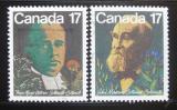 Poštovní známky Kanada 1981 Botanici Mi# 806-07