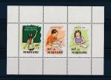 Poštovní známky Surinam 1985 Vzdělávání Mi# Block 41