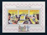 Poštovní známky Surinam 1982 Výstava PHILEXFRANCE Mi# Block 34
