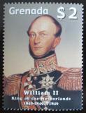 Poštovní známka Grenada 2005 Král William II. Mi# 5595