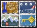 Poštovní známky Švýcarsko 1968 Výročí a události Mi# 870-73