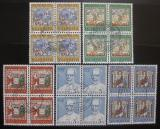 Poštovní známky Švýcarsko 1967 Umění čtyřbloky Mi# 853-57