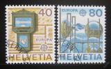 Poštovní známky Švýcarsko 1979 Evropa CEPT Mi# 1154-55