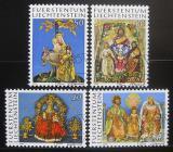 Poštovní známky Lichtenštejnsko 1976 Výrobky z vosku Mi# 662-65