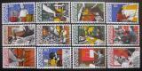Poštovní známky Lichtenštejnsko 1984 Profese Mi# 849-60
