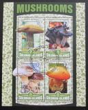 Poštovní známky Šalamounovy ostrovy 2016 Houby Kat 17€