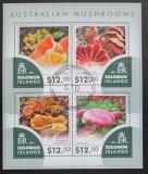 Poštovní známky Šalamounovy ostrovy 2015 Australské houby Mi# 3297-3300 Kat 17€