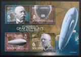 Poštovní známky Šalamounovy ostrovy 2014 Vzducholodě Mi# 2732-35