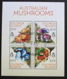 Poštovní známky Šalamounovy ostrovy 2013 Houby Mi# 2132-35