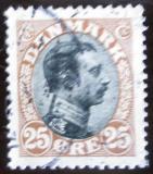 Poštovní známka Dánsko 1919 Král Christian X. Mi# 100