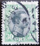 Poštovní známka Dánsko 1918 Král Christian X. Mi# 102
