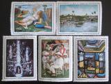 Poštovní známky Kuba 1967 Umění Mi# 1272-76