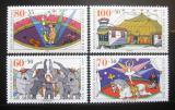 Poštovní známky Německo 1989 Cirkus Mi# 1411-14 Kat 13€