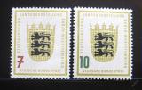Poštovní známky Německo 1955 Baden-Wurttemberg Mi# 212-13