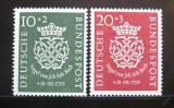 Poštovní známky Německo 1950 J. S. Bach Mi# 121-22 Kat 130€