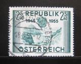 Poštovní známka Rakousko 1955 Jezero Limberg Mi# 1016