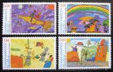 Poštovní známky Řecko 2000 Dětské kresby Mi# 2040-43