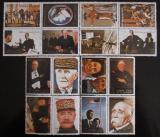 Poštovní známky Adžmán 1972 Obrazy z Francie