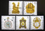 Poštovní známky Německo 1992 Antické hodiny Mi# 1631-35