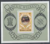 Poštovní známka Sierra Leone 1981 Královský kočár Mi# Block 4