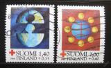 Poštovní známky Finsko 1984 Červený kříž Mi# 946-47