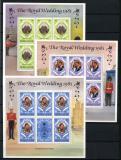 Poštovní známky Sierra Leone 1981 Královská svatba Mi# 639-41